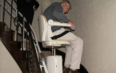 Curved Stair Chair